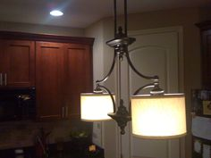 every spare moment: Light Fixture