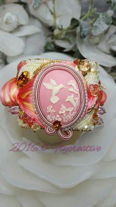 BRACCIALE ASTRAL PINK  #flycreative #shiborisilk #soutache #costumejewelry #handmadecustom #hanmade #flywinter #flywinterideas #picoftheday #ooak #Swarovski #swarovskielements #astralpink #cameo #fashionblogger #fashion #fattoamano #bracciale #blogger #likesforlikes #followme #likes #thankyou #pink #fashionconneryfbs #luxury #style #shopping