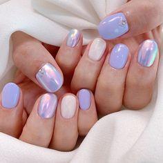 Aycrlic Nails, Manicure, Lilac Nails Design, Jelly Nails, Nail Jewelry, Cute Acrylic Nails, Stylish Nails, Nail Arts, Nail Inspo