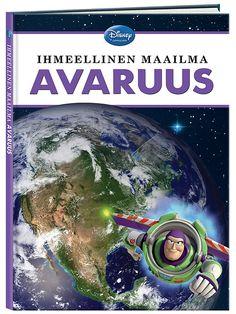 Ihmeellinen maailma, Avaruus -kirja sisältää mielenkiintoista tietoa avaruudesta. Avaruus on kaikkialla ympärillämme, mutta mitä oikeastaan tiedät siitä? Tutustu avaruuden ihmeisiin hauskojen Disney-hahmojen seurassa! Saat tietää, mikä on musta aukko, miksi Saturnuksella on renkaat ja millaista elämä on kansainvälisellä avaruusasemalla? Kirjassa matkataan omassa aurinkokunnassamme ja kaukaisissa galakseissa sekä kerrotaan, mitä avaruudesta ajateltiin ennen ja mitä siitä tiedetään nyt.