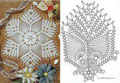 PUNTILLAS Y TAPETES TEJIDOS A CROCHET PATRONES NAVIDAD 2015 - 2016 | Patrones Crochet, Manualidades y Reciclado
