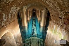 Canalisation d'arrivée d'eau au réservoir de Montsouris
