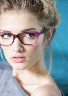 I really want purple glasses...and time to paint my toenails and curl my hair in the morning.