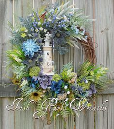 Newest Front Door Wreath Decor Ideas For Summer 48 Flowers come in exotic colors and fragrances and leave their impression through all seasons. They stand tall as anniversary gifts, … Wreath Crafts, Diy Wreath, Burlap Wreath, Wreath Making, Wreath Ideas, Coastal Wreath, Nautical Wreath, Isle Of Man, Drops Design