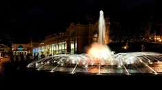 **The Singing Fountain (every hour has different music) - Marianske Lazne, Czech Republic Burj Khalifa, Hot Springs, Czech Republic, Trip Advisor, Fountain, Places To Go, Singing, Castle, Building
