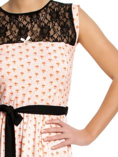 Rose Bow Dress
