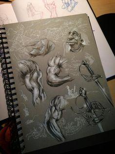Sketchbook / Studies