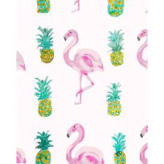 Carly Martin Tropical Pattern