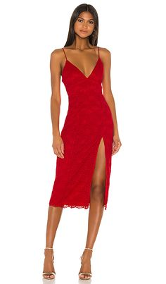 Shop for Lovers + Friends Saba Midi Dress in Red at REVOLVE. Free day shipping and returns, 30 day price match guarantee. Midi Dress With Slit, Long Sleeve Midi Dress, Dress Up, Short Sleeve Dresses, Wedding Guest Looks, Guest Of Wedding Dress, Kate Dress, Red Cocktail Dress, Revolve Clothing
