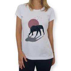 Camiseta Elefante de @fernandak | Colab55
