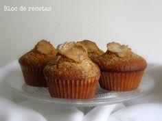 MAGDALENAS DE ESPELTA, LA RECETA MÁGICA Clean Recipes, Cooking Recipes, Cupcake Cakes, Cupcakes, Sin Gluten, Muffins, Bakery, Deserts, Food And Drink