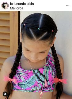 You are in the right place about hair peinados noche Here we offer you the most beautiful pictures a Cute Little Girl Hairstyles, Cool Short Hairstyles, Baby Girl Hairstyles, Princess Hairstyles, Braided Hairstyles, Short Hair Styles, Hairstyles For Kids, Girl Hair Dos, Hair Today