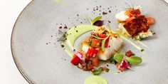Cod is paired with avocado and chorizo in this cod recipe from Icelandic chef…