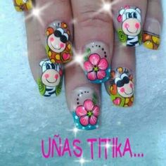 Tierno Spring Nails, Toe Nails, Hair And Nails, Manicure, Wax, Projects To Try, Nail Designs, Lily, Nail Art