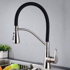 sink kitchen faucet-single hole chrome plateing kitchen faucet with sprayer supplier.