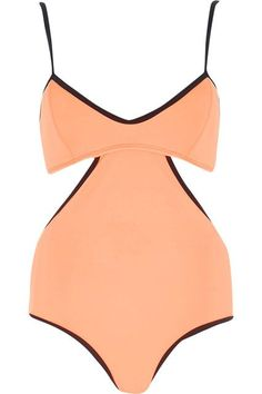 20 Swimsuits Worth The Weird Tan Lines #refinery29  http://www.refinery29.com/strappy-bikinins#slide-2  The sides of this swimsuit lead to a revealing, open back.