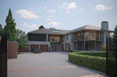 CGI Exterior - Marcus Homes Development