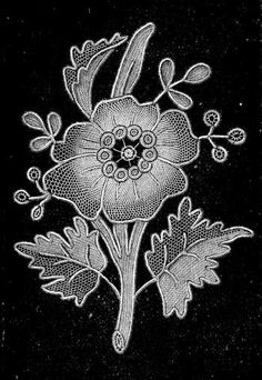 Needlepoint Lace in The Encyclopedia of Needlework by Thérèse de Dillmont, published in 1884.