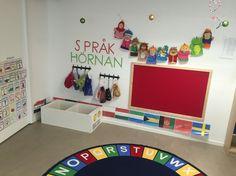 Pedagogisk miljö förskola. Samling språk