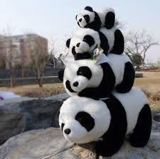 Plush Cute Panda Toy The Soft Toys Panda Stuffed Animal Large Size . Cute Panda Baby, Baby Panda Bears, Baby Animals Super Cute, Cute Little Animals, Cute Funny Animals, Cute Cats, Panda Stuffed Animal, Cute Stuffed Animals, Stuffed Toy