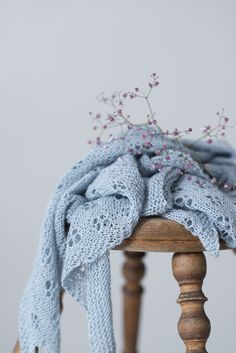 Ravelry: Quatrefoil shawl with Eden Cottage Yarns Askham 4ply - knitting pattern by Janina Kallio from Woolenberry.