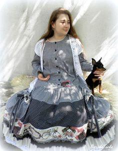 Bílé Chalupářské šaty v shabby stylu / od BorůvkaTerka | Fler.cz Shabby, Victorian, Dresses, Fashion, Gowns, Moda, Fashion Styles, Dress, Vestidos