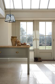 A beautiful Prep Table in deVOL's West Sussex Kitchen