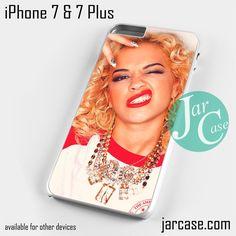 Rita Ora 1 Phone case for iPhone 7 and 7 Plus