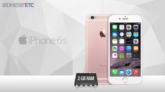 According to an iOS developer, iPhone 6s and 6s Plus will carry 2GB RAM.