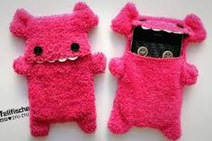 pink monster phone case