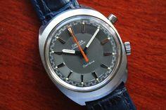 OMEGA - Vintage 1960s Omega Geneve Chronostop Mens Watch Ref. #145.009 - Chronograph door TimelessGalleryShop op Etsy https://www.etsy.com/nl/listing/535606140/omega-vintage-1960s-omega-geneve
