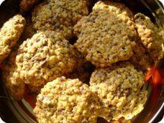 Zabpelyhes keksz recept képpel. A recept hozzávalói és elkészítése részletes leírással és fotóval. A zabpelyhes keksz elkészíétse:  Előmelegítem a sütőt 175 fokra és kib&... Krispie Treats, Rice Krispies, Amp, Desserts, Food, Postres, Deserts, Hoods, Meals
