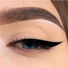 48 Ideas For Eye Makeup Art Eyeliner Lipsticks Eye Makeup Art, Simple Eye Makeup, Cute Makeup, Gorgeous Makeup, Skin Makeup, Eyeshadow Makeup, Natural Makeup, Beauty Makeup, Silver Eyeshadow