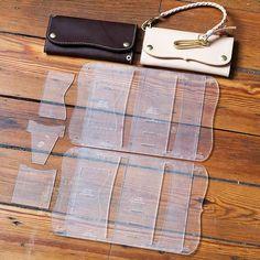 Roper Long Wallet Acrylic Template Set