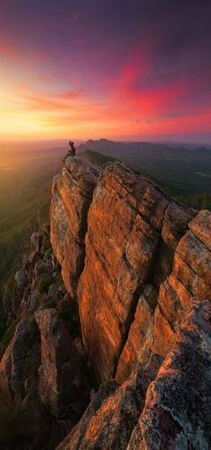 'Bloody Mary' St Mary Peak, Flinders Ranges, South Australia by Dylan Gehlken