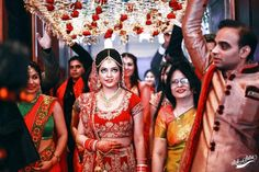59 Ideas Wedding Ideas Indian Entry For 2019 Plum Bridesmaid Dresses, New Wedding Dresses, Boho Wedding Dress, Best Wedding Venues, Wedding Ideas, Bride Entry, Wedding Reception Activities, Wedding Mandap, Indian Wedding Photography