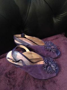 4fa48e97ed9 Purple Stilettos 37 Topshop Used Peep Toe Sandal