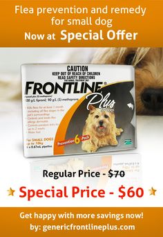Special offer at Frontline Plus for Dogs 5 to 22 lbs http://www.genericfrontlineplus.com/frontline-plus-for-small-dogs-5-to-22-lbs.html?utm_source=pinterest&utm_medium=product-special-offer-frontline-plus-for-small-dogs-5-to-22&utm_term=offer-house&utm_campaign=november-smo