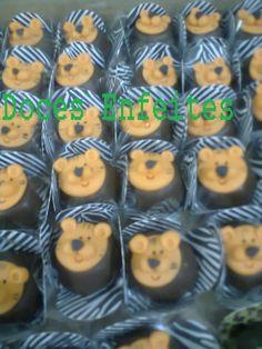 Bombons decorados da Festa da Floresta, Safari ou Selva. Encomendas:(21) 2652-6583 selmadocesenfeites@yahoo.com.br selmadocesenfeites@gmail.com