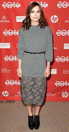 Elegancia casual en el Festival de Sundance