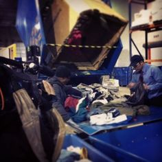 Can you spot what doesnt belong in this picture? Thats not one of our team members at the distribution center!