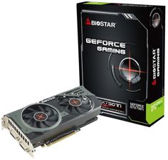 Biostar - présente la GTX 750 Ti Gaming OC - Biostar lance la carte graphique GeForce GTX 750 Ti Gaming OC Biostar semble se lasser de fabriquer des cartes mères et a annoncé sa carte graphique GeForce GTX 750 Ti Gaming OC. Cette dernière est équipée d'un GPU GM107 gravé en 28 nm et disposant de 640 CUDA Cores. Les fréquences de base ... #Biostar, #CarteGraphique, #GamingOc, #GeForce, #GM107, #Gpu, #Gtx750Ti