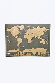Shop Scratch Map Deluxe at Urban Outfitters today. We carry all the latest styles, colours and brands for you to choose from right here. Urban Outfitters, World Map Bedroom, Art Mural, Wall Art, Detailed World Map, Les Continents, Scratch Off, Travel Gifts, Decorative Cushions