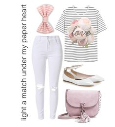 """""""Paper heart"""" by beauty-from-ashes ❤ liked on Polyvore featuring Madden Girl"""