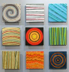 Calendar Iii Ceramic Tile Wall Art Installation By Jasonmessingerart Composed Of Nine