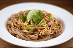 Homemade Healthy Pad Thai