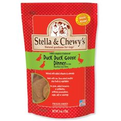 Stella & Chewy's Freeze-Dried Raw Duck Dinner for Dogs, 6oz (Pack of 3) @@ Do you want additional info? Click on the image. (This is an affiliate link and I receive a commission for the sales)