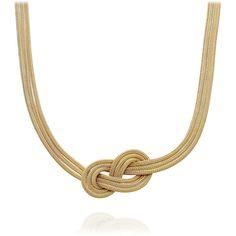 Figure Eight Follow Through Necklace by Astley Clarke Woven   AstleyClarke.com