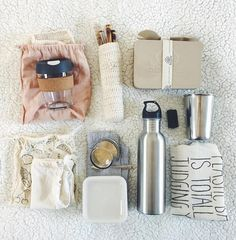 """419 Likes, 24 Comments - Journey To Zero (@journeytozero_) on Instagram: """"My zero waste kit that I'll be taking with me overseas My keepcup, my bamboo & glass straws (I'm…"""""""