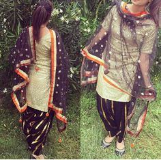 Patiala....love the combination of stripes and circles!